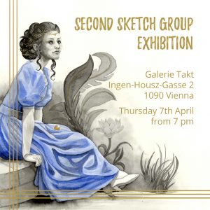 Get more information about our second sketch group exhibition!