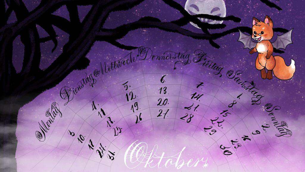 Halloween-Vampirfuchs