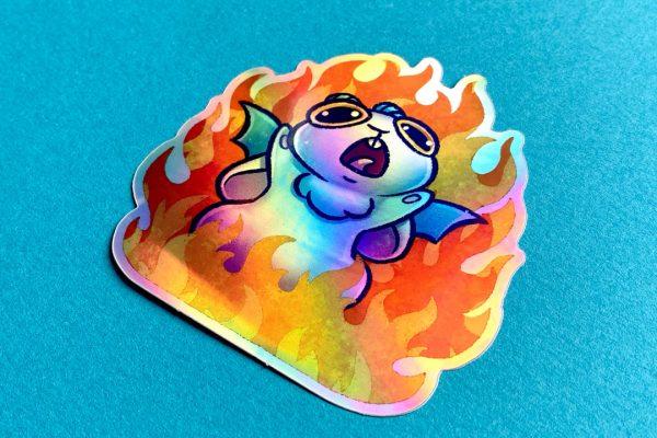 Drakenbun-Holo-Sticker_2