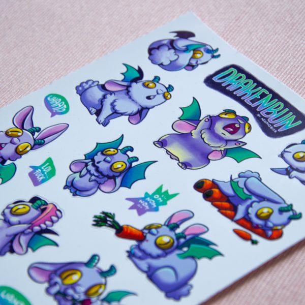Drakenbun Sticker Sheet